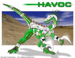 Havoc TR by anthrosaur