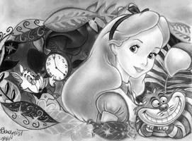 Alice in Wonderland by brandymarie87