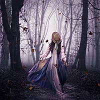 Dans les bois by Ghislaine-L