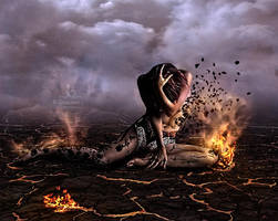 Combustion by Ghislaine-L