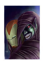 Green Goblin by shiprock