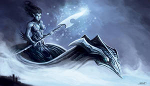 RIFT Contest:Lady of the water by shiprock