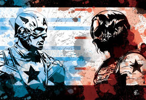 Captain America: the winter soldier by shiprock