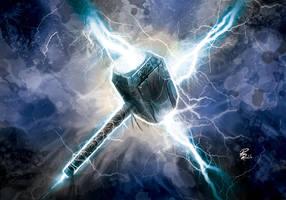 Mjolnir by shiprock