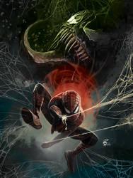 Portfolio: Spider-Man vs Venom by shiprock