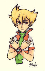 Pokemon - Barry by tanuki15
