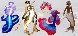 [CLOSED] Mermay 2018 by CeryluneAdopts