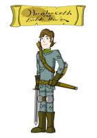 (DnD) Hugheseth the Folk Hero by MayMSHughes