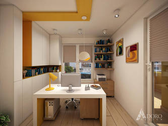 Home Office by adorodesign