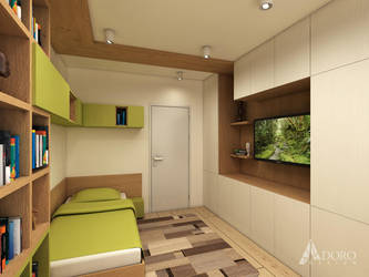Guest Bedroom by adorodesign