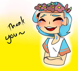 Thank You by Amymations