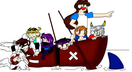 Draw The Squad 4 (ocs) by Amymations