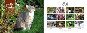 Four Cats in the Garden v2 - 2019 calendar by RavenMontoya