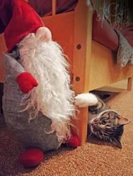 Hey, Santa! Wanna see my claws!? by RavenMontoya