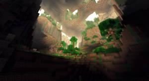 Minecraft - Une jungle souterraine by AleksCube