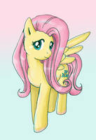 Fluttershy as an Older Pony by lotothetrickster