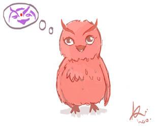 The owl. by 0nion-streak