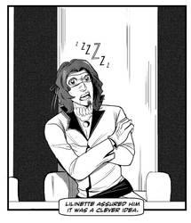 This Isn't A Marmaduke Cartoon Strip, Starrk by bunnitake