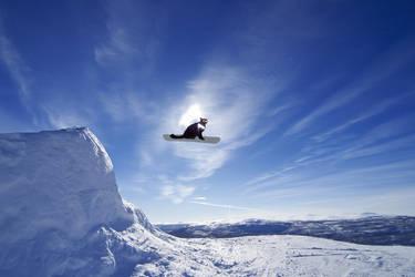 Snowboard-big-air-jump by 432hzK