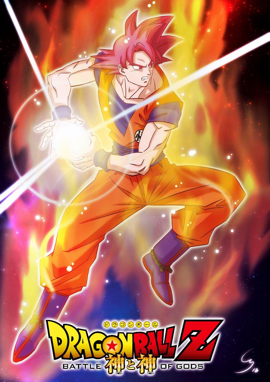 Direct Live Mondoclub : Son Goku Super Saiyan God by Cheu-Sae