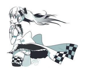 Domino maid by Girutea