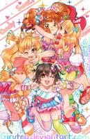 Idolmaster Candy Rush by Girutea