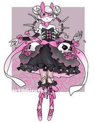 Pink Rabbit Auction (open) by Girutea