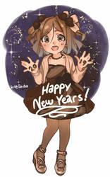 Happy New Year 2019 by Girutea