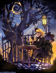 Midnight Tea by Girutea
