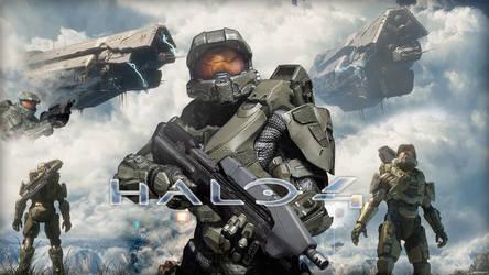 Halo 4 Wallpaper by SkyCrawlers