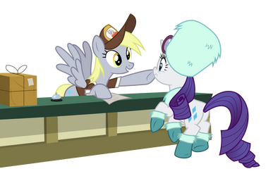 Derpy - Boop Delivery by Comeha