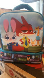 zootopia lunchbox  by Dinolover3