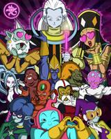 Tribute to Universe 2 by DFJonesArt