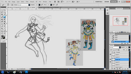 Sailor Scout : Day 2 by pskibobby