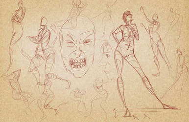 Todays Gestures by pskibobby