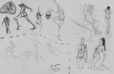 some gestures by pskibobby