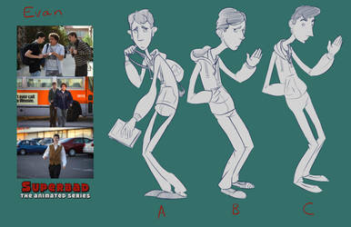 Evan: Superbad the Animated Series by pskibobby