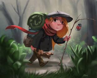 Nomad Girl by pskibobby