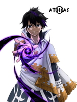 RENDER - Zeref by Athias95