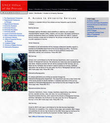 Webpage Sample for the Provost Website by mentos888