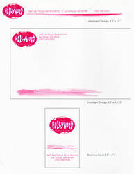 Planet Hollywood Concept Logo Stationary by mentos888