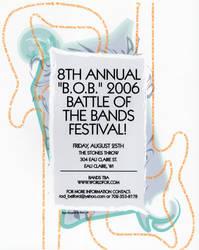 Concert Poster in Adobe Illustrator by mentos888