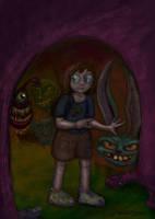 Alice versus the Acid Bunnies by ObscureStar