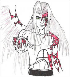 Blood Winged Angel by turialx