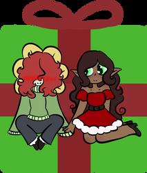 Christmas Cuties by GwendolynSavetts