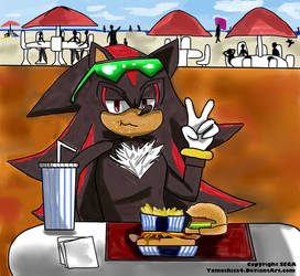 Lunch Time: Shadow by Yamashita4
