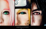 Naruto Shippuden: Team 7 by DidsRainfall