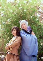 Kamisama Hajimemeshita: Nanami and Tomoe by DidsRainfall