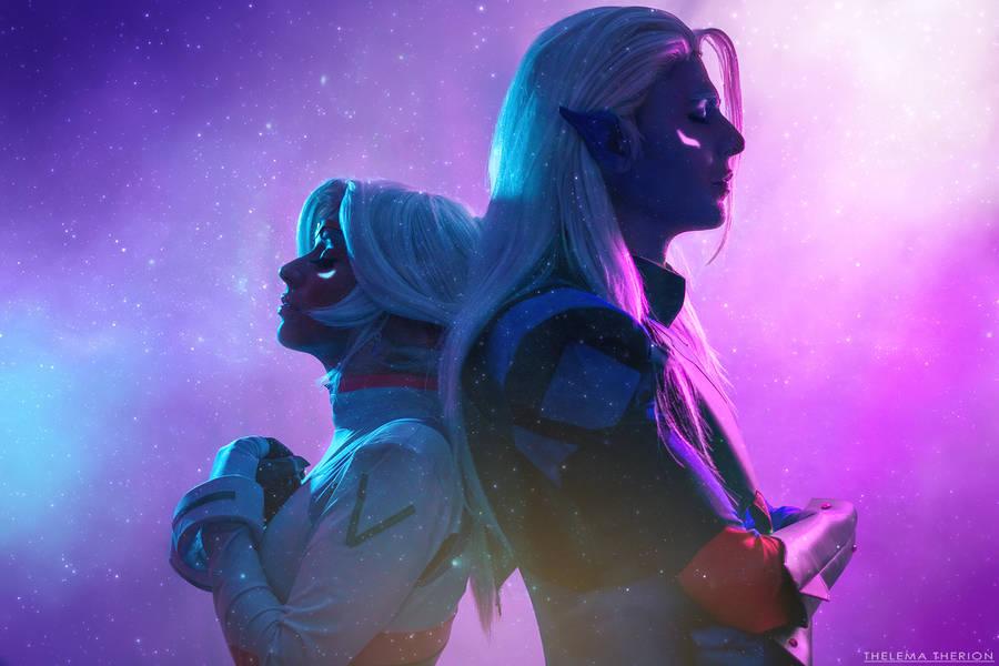 Voltron (LotorxAllura): -Across the stars- by DidsRainfall