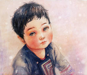 H'mong child by nhienan
